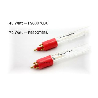 UVC Ersatzröhre 40W / 75W T5 Red Base F980078BU / F980079BU Ersatzlampe